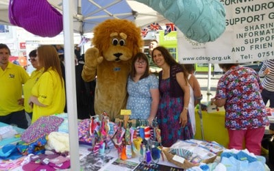 Craft Stall at charity fair – Lemon Quay