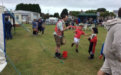 Sara & Steven Richards' Pirate Fun Day raise £4,441