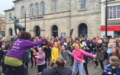 Flashmob 18th March, Lemon Quay, Truro – celebrating World Down Syndrome Day