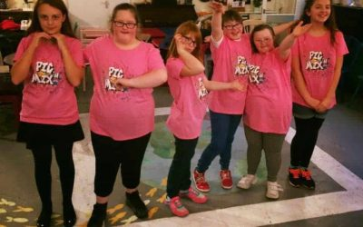 Pick'n'Mix dancers perform for the Positive Choice award conference