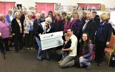 Stithian Ladies Choir raise £1,000 for CDSSG