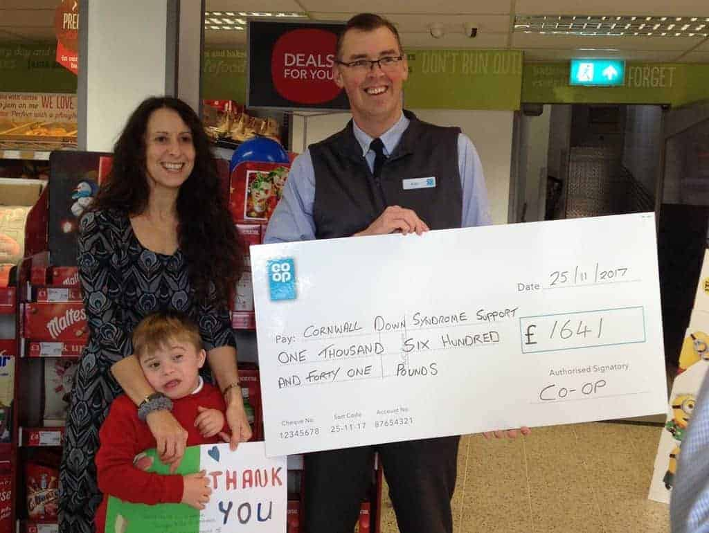 Co-op Roche raise money for sensory equipment