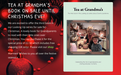 Tea at Grandmas's book on sale until Christmas Eve